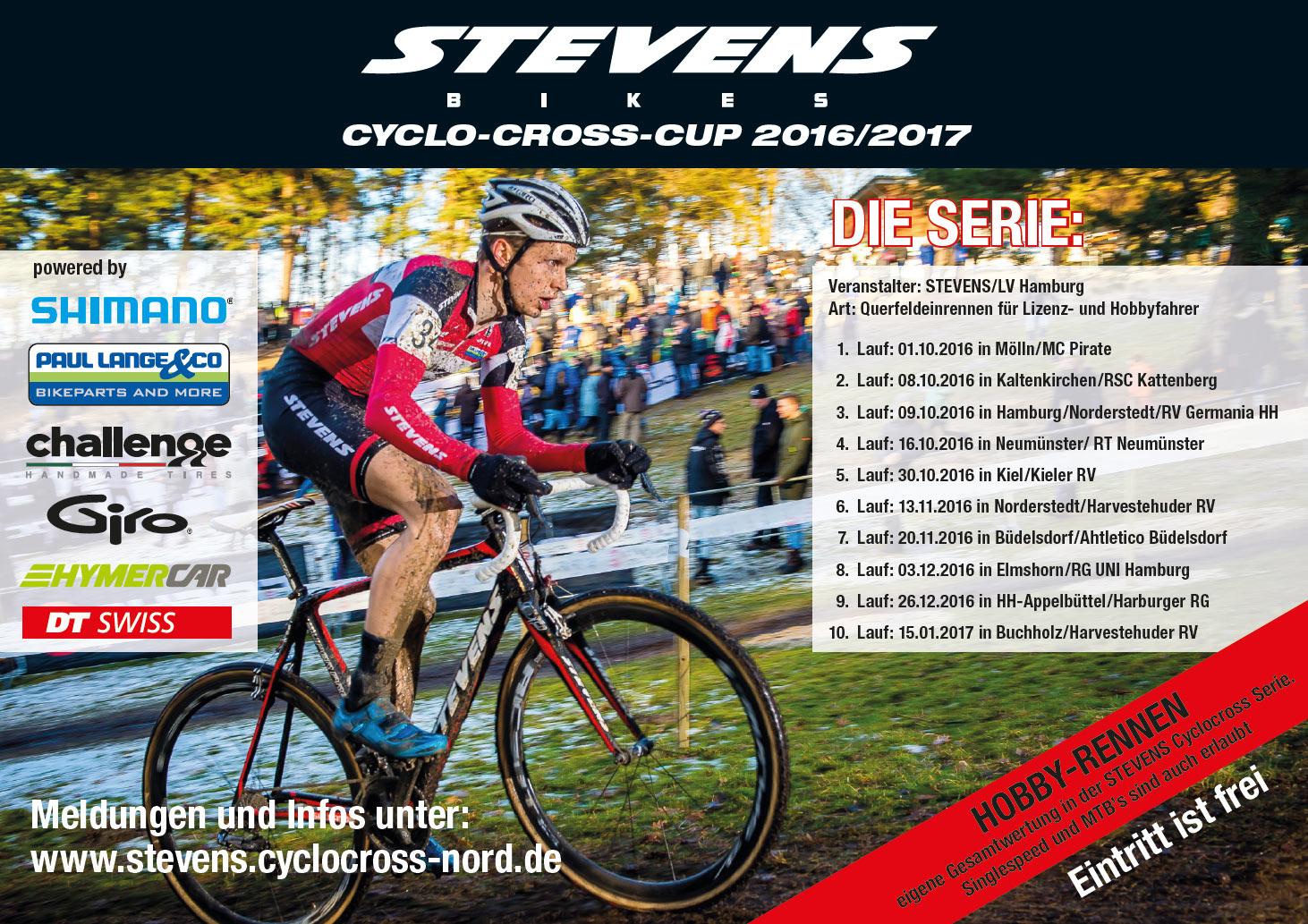 Stevens Cyclocross Cup 2016/2017