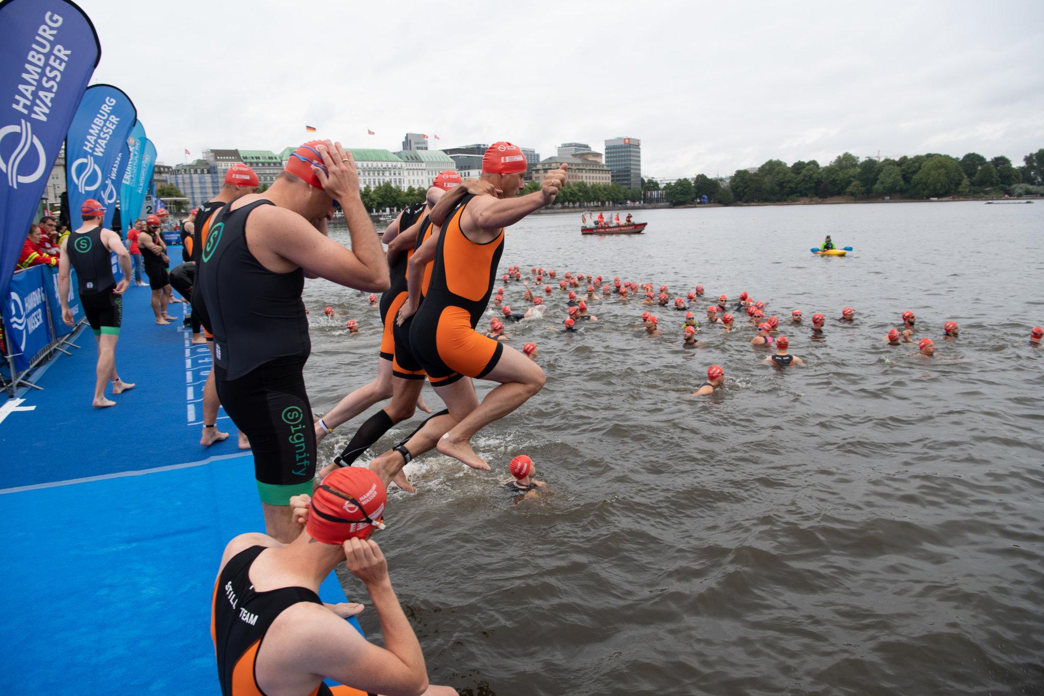 Bilder ITU Triathlon Hamburg - Sprint - 06 07 2019 - Helmuts